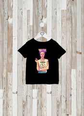 CAMISETA KIDS FRIDA RAMONES