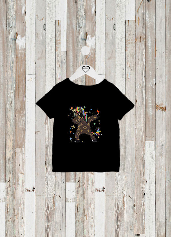 CAMISETA KIDS UNICORNIO VUITTON