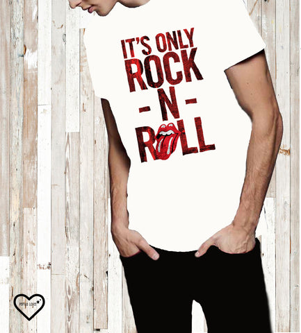 CAMISETA ROCK N ROLL HOMBRE