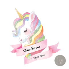 CAMISETA UNICORNIO BELIEVE