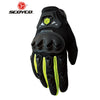 SCOYCO Motorcycle Gloves Summer Breathable Wearable Protective