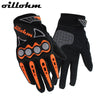 Motocross glove leather motorcycle and dirt bike glove