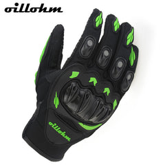 SALE !! Summer Winter Full Finger motorcycle gloves gants moto luvas motocross leather motorbike guantes moto racing gloves