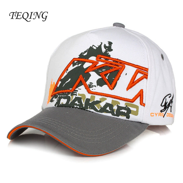 KTM Racing Cap Motocross Riding Caps Women and Men Casual Adujustable Hat Motorcycle Snapback