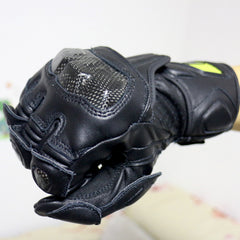 Motorcycle Gloves Moto Men GP PRO Glove Leather Motocross Long Cycling Protective Gear