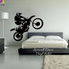 Motocross Wall Sticker Home Decor Art DIY