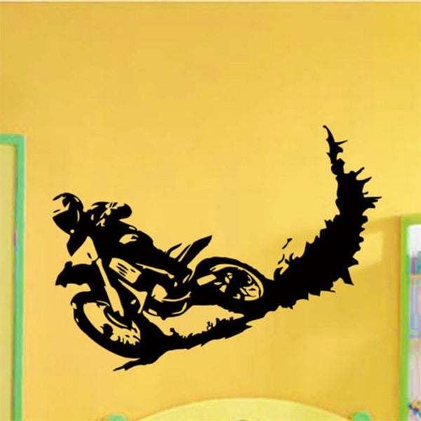 Motocross Sport Wall Sticker Decal Home Decor Decals Stickers Mural