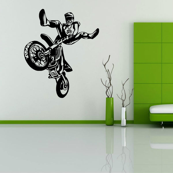 MOTOCROSS MOTO SPORT wall art sticker vinyl decal