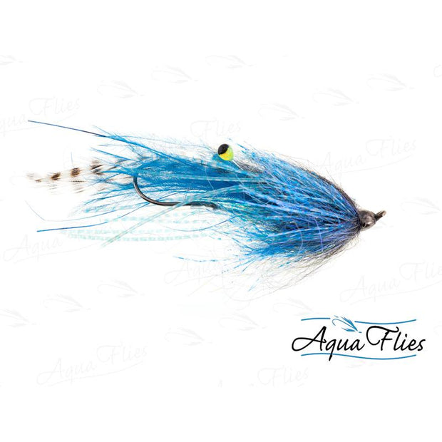 Aqua Flies Round Eye Shanks