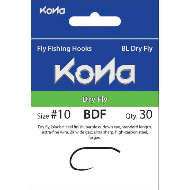 Kona Dry Fly Hook
