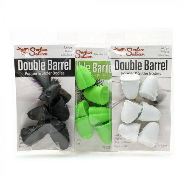 Surface Seducer Double Barrel Popper and Slider Bodies