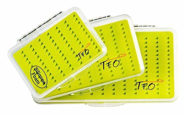 TFO Silicone Foam Fly Boxes