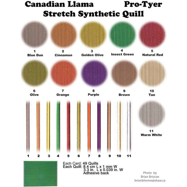 Pro Tyer Stretch Synthetic Quill