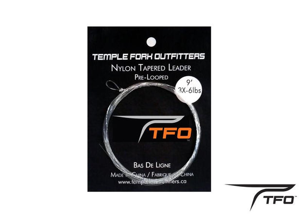 TFO Nylon Tapered Leaders