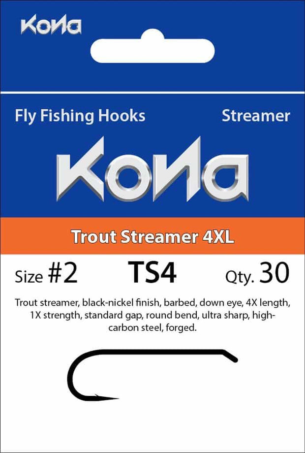 Kona Trout Streamer 4XL