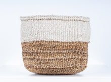 Ndizi Color Block Natural Woven Basket Set of 3 - MoLi Products