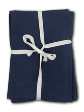 100% Egyptian Cotton Cloth Napkins 12 Pack (Navy Blue)