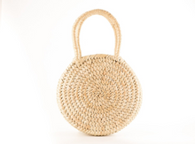Pande Zote Round Straw Basket Bag - MoLi Products