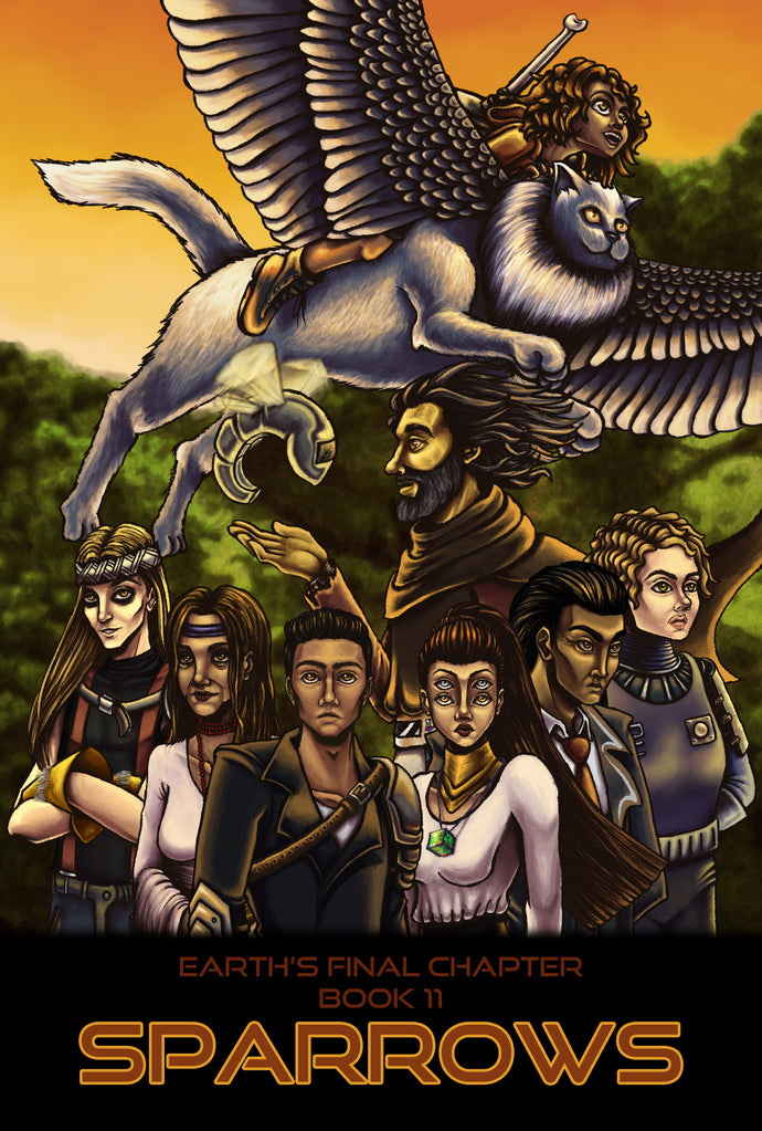 Earth's Final Chapter Book 11: Sparrows Review by Ram T