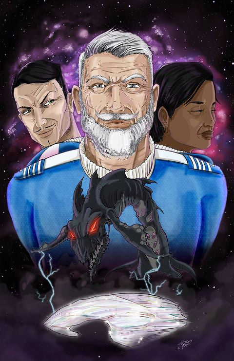 EFC Vol. 1: Book 2: Captain Taylor: The Starship Ceu Poster 3