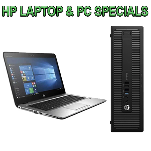 HP Laptop & PC Specials
