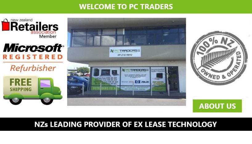 Used Laptops & Used Computers PC Traders NZ