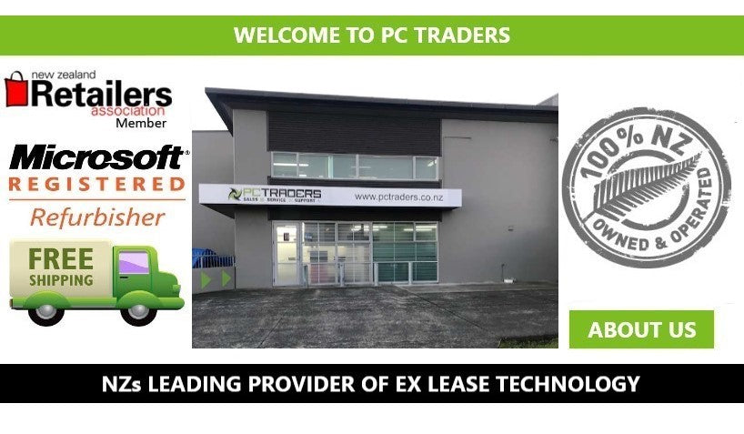 PC Traders NZ Used Laptops & Computers