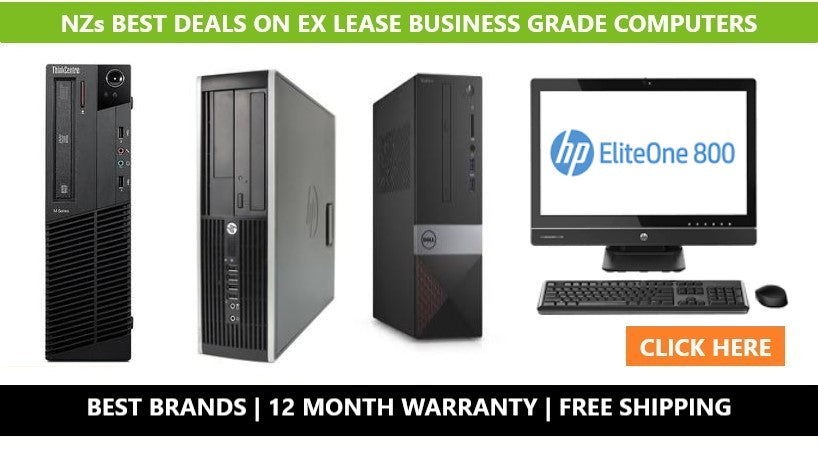 used computers ex lease computers PC Traders NZ