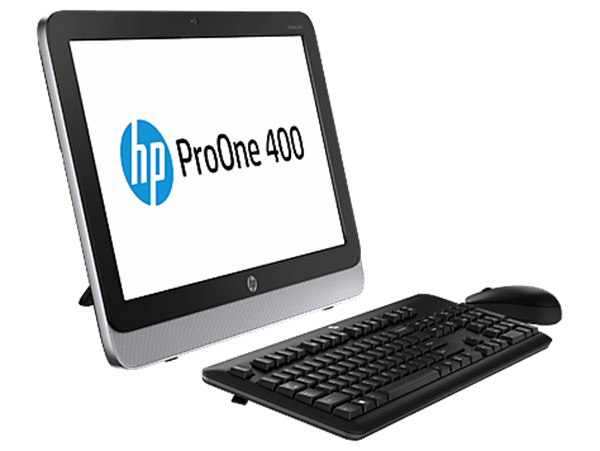 HP ProOne 400 G1 Ex-Lease Intel Core i3-4130T 2.9 GHZ  8GB RAM 240GB SSD Windows 10 home  DVD+-RW DL/CD-RW webcam 19.5""