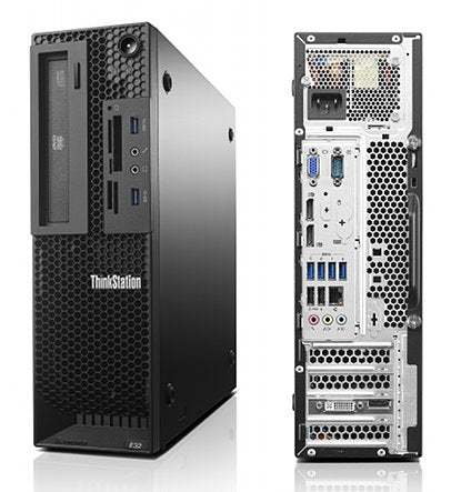 LENOVO THINKSTATION E32 EX-LEASE SFF I7-4470 3.40GHZ 8GB RAM 240GB SSD DVD-R WIN10 PRO