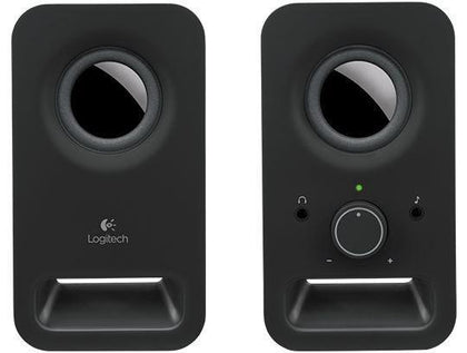 Logitech Z150 Multimedia Speaker - Midnight Black- Brand New Upgrade - PC Traders New Zealand