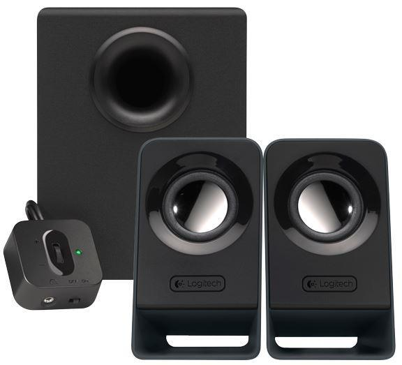 Logitech Z213 2.1 Channel 14W Peak Power Multimedia Speakers- Brand New