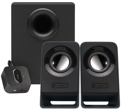 Logitech Z213 2.1 Channel 14W Peak Power Multimedia Speakers- Brand New - PC Traders New Zealand