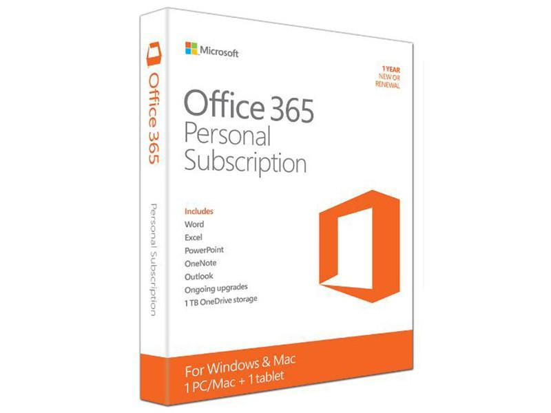 Microsoft Office 365 Personal (For 1 PC or Mac Device)