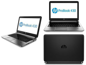 HP ProBook 430 G2 Ex Lease Laptop Intel Core i5 5200U 2.2GHz Turbo Boost 2.7GHz 8GB 128 GB SSD 13 Inch Screen WebCam Windows 10 Home - PC Traders New Zealand
