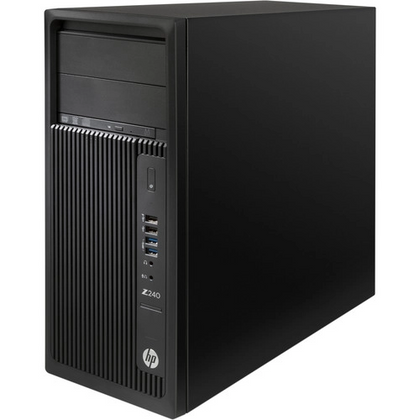 Combo Deal! HP Z240 WorkStation Ex Lease Tower PC i7-6700 CPU 3.40GHZ 16GB 2TB HDD + 240GB SSD DVD-R Nvidia GTX 1650 4GB W10 PRO + 24