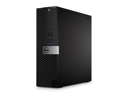 System Bundle - Dell OptiPlex 7040 Ex Lease SFF Desktop i7-6700 3.4GHz 8GB RAM 256GB SSD Windows 10 Pro + 22inch Brand monitor + Keyboard and mouse (All required cable will be provided) System Bundle - PC Traders New Zealand