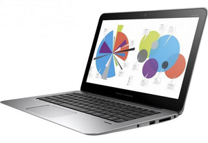 "HP EliteBook Folio 1020 Ex Lease Laptop G1 M-5Y71 1.2GHz Turbo Boost to 2.9GHz 8GB RAM 256GB SSD 12"" WebCam Windows 10 Pro"