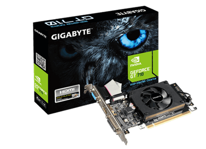 GIGABYTE GV-N710SL-2GL, GEFORCE GT710 2G GDDR5 - PC Traders New Zealand