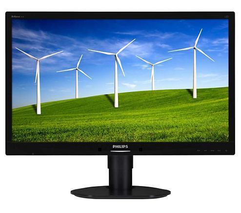 "Ex-Lease Philips Brilliance 241B4L Monitor 24"" Full HD LED Monitor"