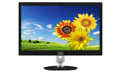 Philips Ex-Lease LCD 27inch monitor LED BlackLight with Webcam Monitor - PC Traders New Zealand