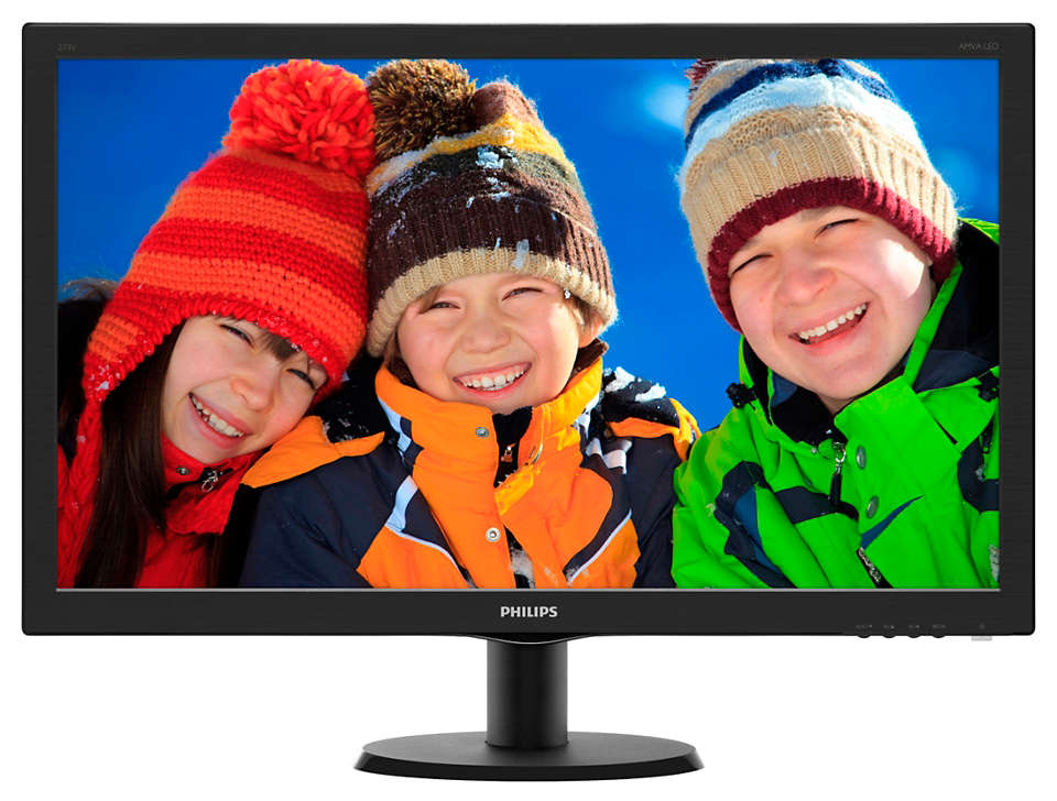 "LCD PHILIPS EX-LEASE 273V5Q 27"" MONITOR VGA, DVI, HDMI"