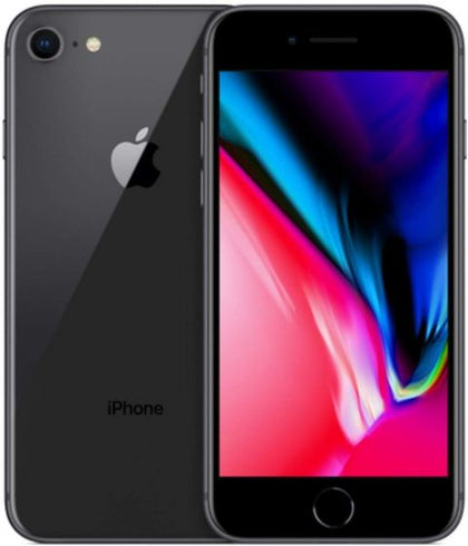 Ex-lease Apple iPhone 8 64GB Smartphone Unlocked - Space Grey Mobile Phone - PC Traders New Zealand