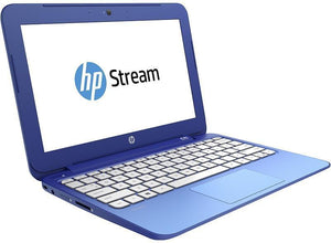 HP Stream 11-d008TU Ex Lease Laptop Intel Celeron N2840 2.16GHz 2GB 32 GBSSD 11.6 Inch Screen Windows 10 Home WebCam