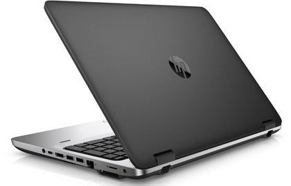 HP Probook 650 G2 Ex-lease Laptop i7-6600U 2.60GHz 8GB RAM 256 GB SSD DVD-R 15.6