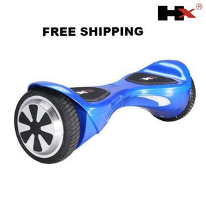 X1 6.5 inch Blue Hoverboard bluetooth speaker - NZ Certified Hoverboard! - PC Traders New Zealand