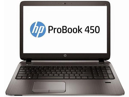 B GRADE-HP ProBook 450 G3 Ex Lease Laptop  i5-6200U Turbo 3.2Ghz  8GB RAM 120GB SSD 15.6