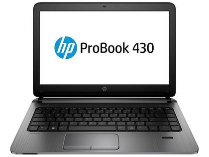 HP ProBook 430 G3 Ex Lease Laptop Intel Core i5 6200U 2.3GHz Turbo Boost 2.8GHz 8GB 240 GB SSD 13 Inch Screen WebCam Windows 10 NO ODD HDMi Port - PC Traders New Zealand