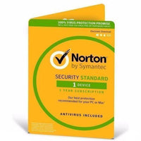 Norton Security Standard 3.0 AU 1 User 1 Device, 1-Year License for PC/MAC - PC Traders New Zealand