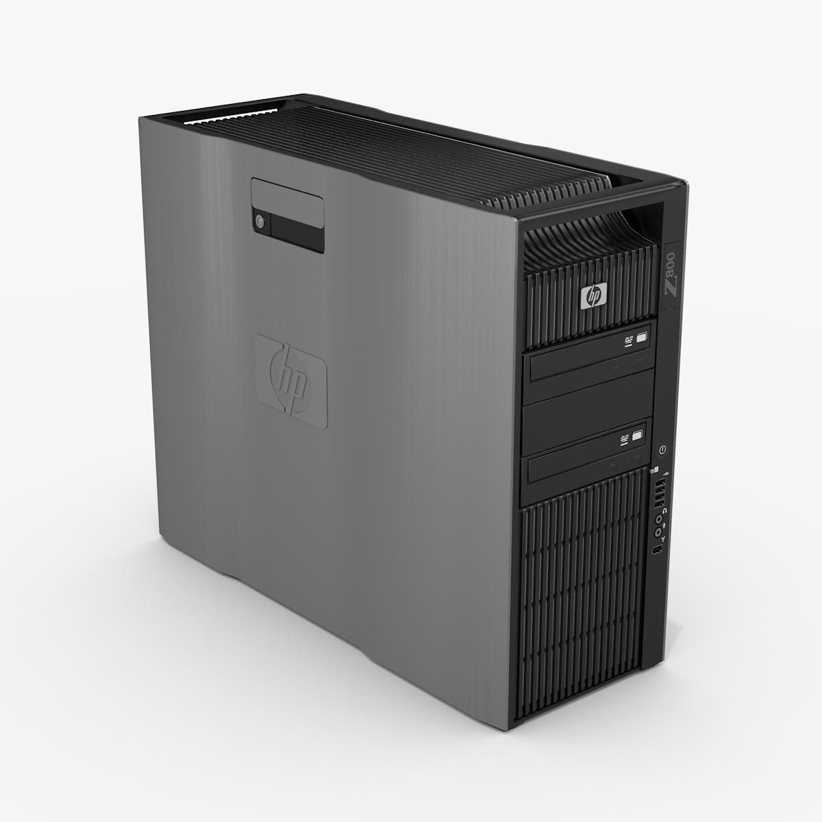 HP Z800 Ex Lease Workstation Tower PC Xeon XEON 6-Core X5650 2.6 Ghz Turbo 3.06GHz 16GB RAM 240GB SSD+2TB HDD DVDRW Nvidia Quadro 5000 2.5GB Graphics Windows 10 Pro